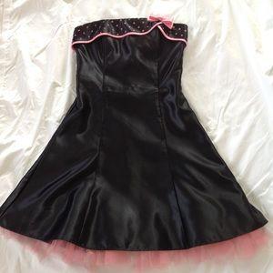"Halloween costume strapless dress ""Betty Boop"""